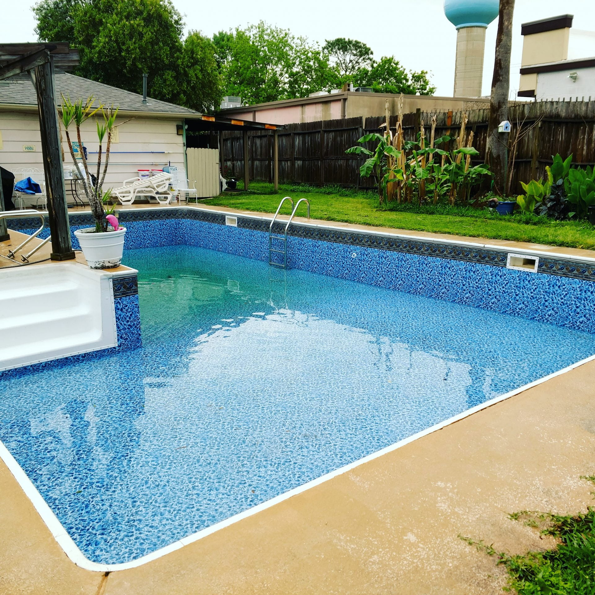 Inground Liner Replacement Dmg Pool Builders Houston Tx