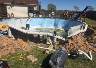 dmg-Inground-Liner Replacementof Pool take down and rebuild